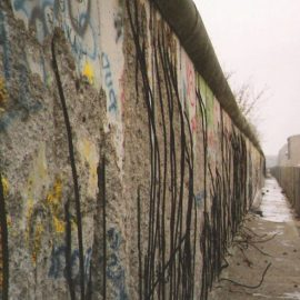 A Mother, a Baby and the Berlin Wall